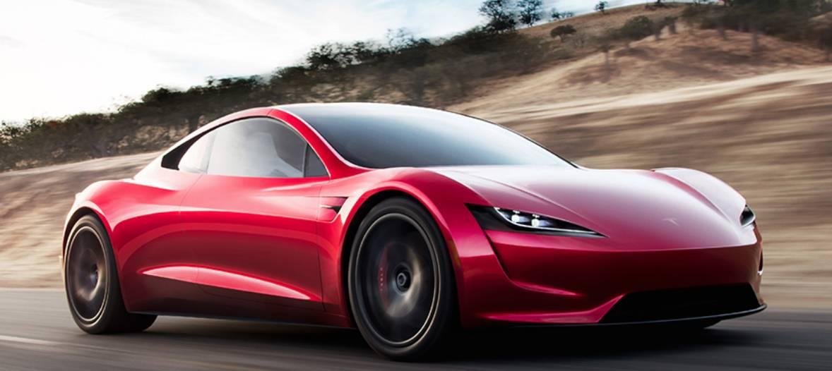 Ce viteza ar avea o masina Tesla Roadster cu propulsoare de racheta