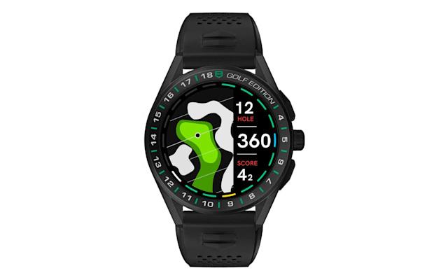 De ce e in stare acest smartwatch pentru golf, TAG Heuer Connected Golf Edition
