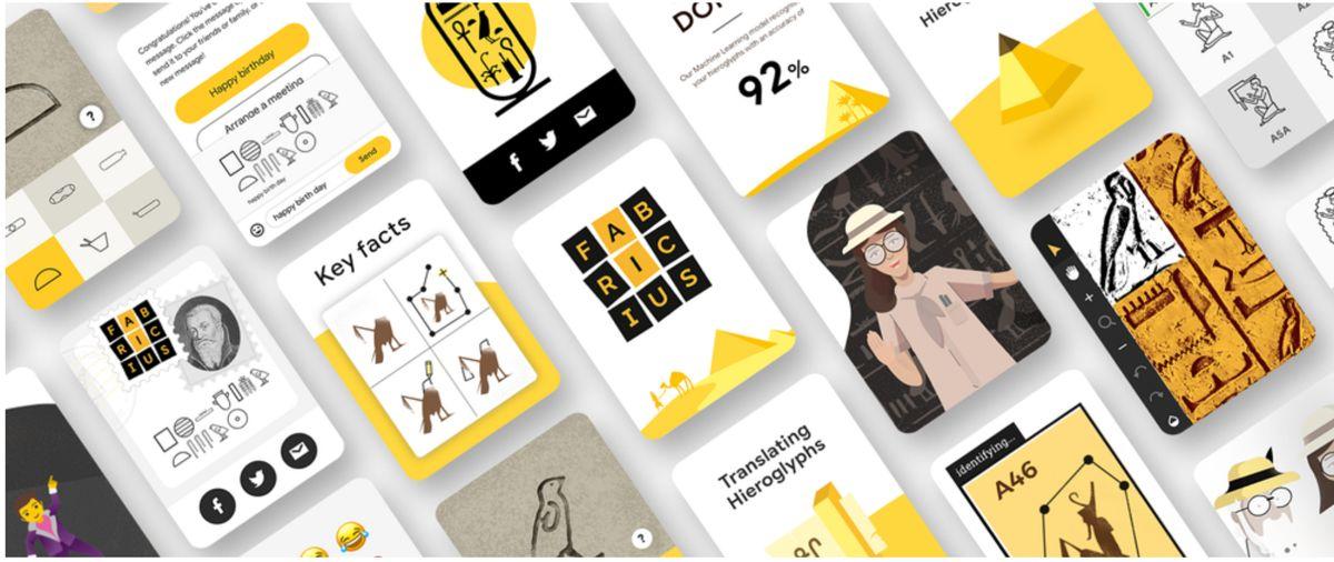 Ce aplicatie Google poate decodifica hieroglifele egiptene