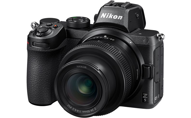 Ce pret are Nikon Z5 - camera mirrorless ieftina