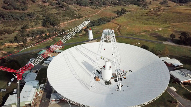 De ce agentia spatiala americana modernizeaza o antena din Australia
