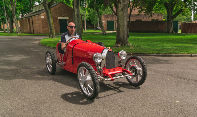 Masina electrica Bugatti de 30.000 de euro