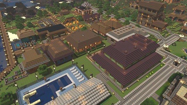Campusul carei universitati a fost recreat in jocul Minecraft