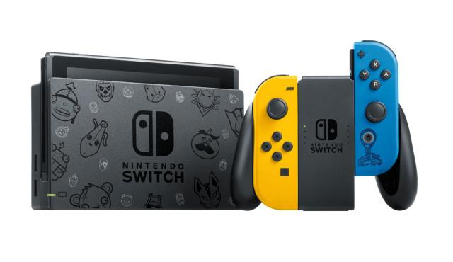 Ce va include Nintendo Switch Fortnite, consola de jocuri cu tematica