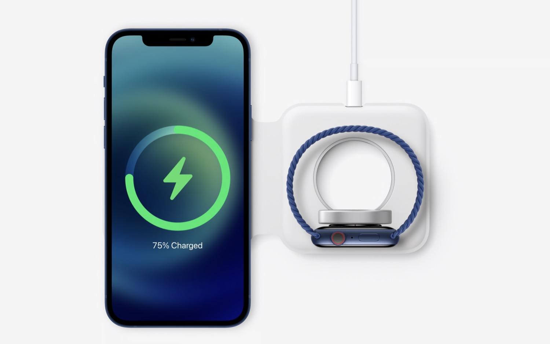 Acesta e incarcatorul wireless MagSafe pentru smartphone-urile iPhone 12 ale Apple