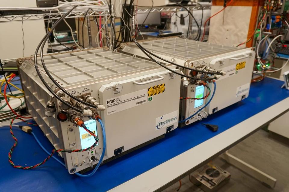 Acesta e primul frigider de pe Statia Spatiala Internationala