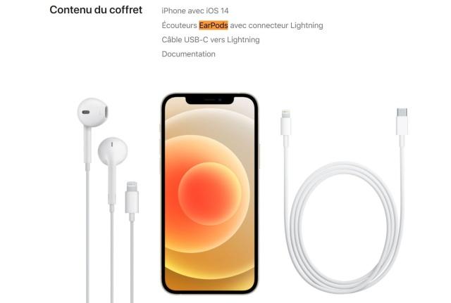 De ce iPhone 12 va sosi in Franta cu casti EarPods gratuite