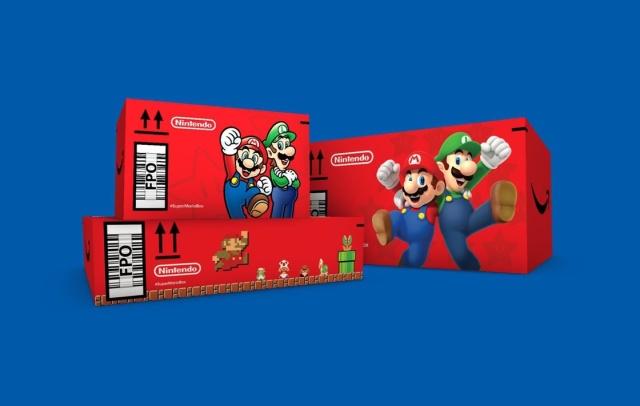 De ce unele produse Amazon sunt livrate in cutii cu tematica Mario