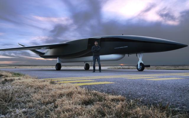 Aceasta e drona care lanseaza sateliti pe orbita