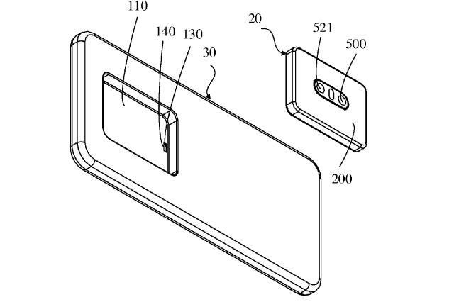 Compania care a brevetat un smartphone cu module de camera detasabile