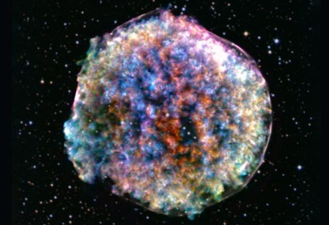 Descoperirea referitoare la stelele supernove si aparitia vietii