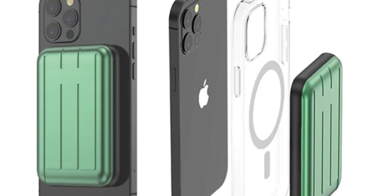 Pretul acestui acumulator MagSafe tert care incarca wireless iPhone-ul