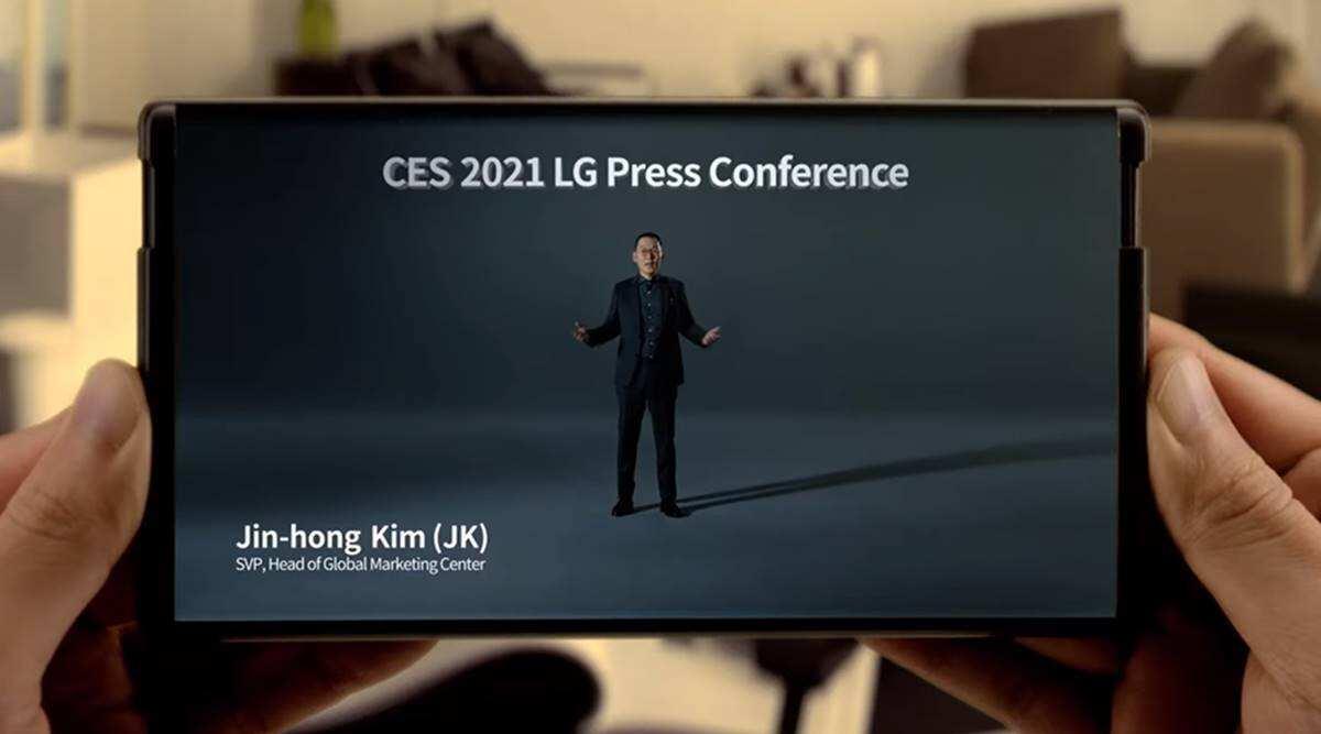 Acesta e conceptul de smartphone cu ecran rulabil al LG