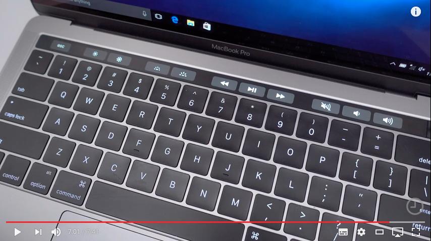 De ce Apple ar putea renunta la Touch Bar pe MacBook Pro