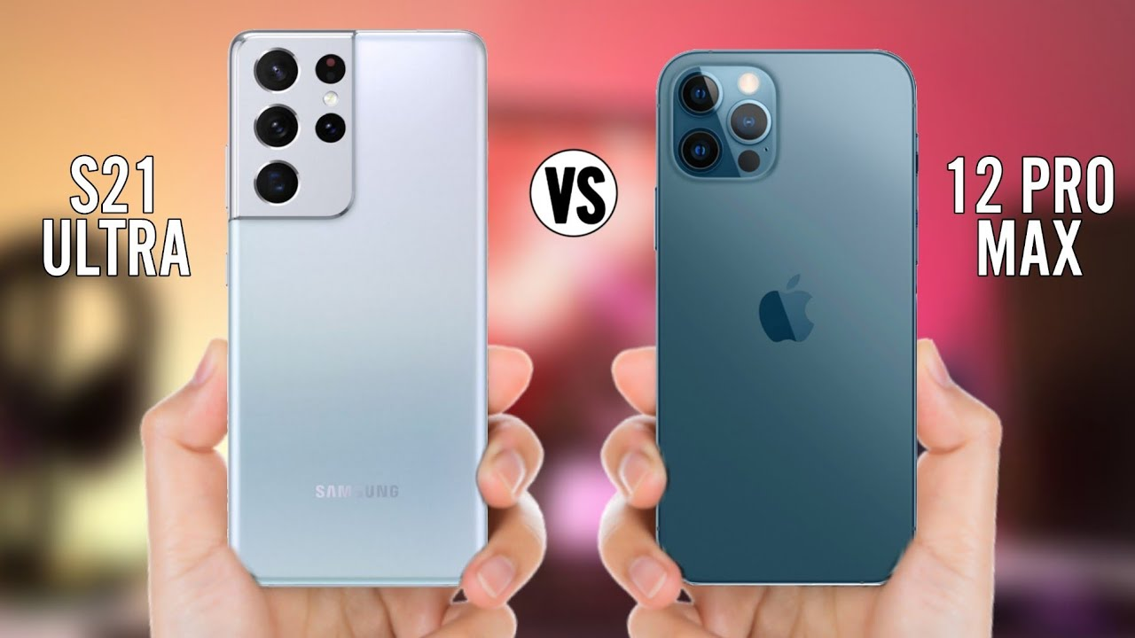 Samsung Galaxy S21 Ultra vs iPhone 12 Pro Max intr-un drop test. Smartphone-ul mai rezistent