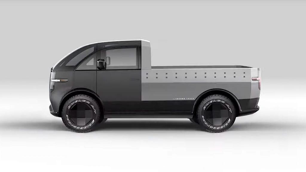 Ce autonomie are aceasta camioneta electrica Canoo