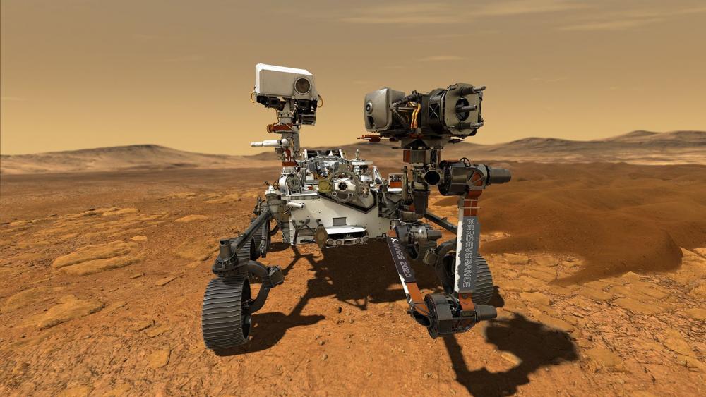 Cum de Dojotech.ro a fost transportat pe Marte impreuna cu roverul Perseverance