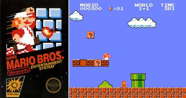 Pretul la care s-a vandut o copie a jocului Super Mario Bros. din anii '80