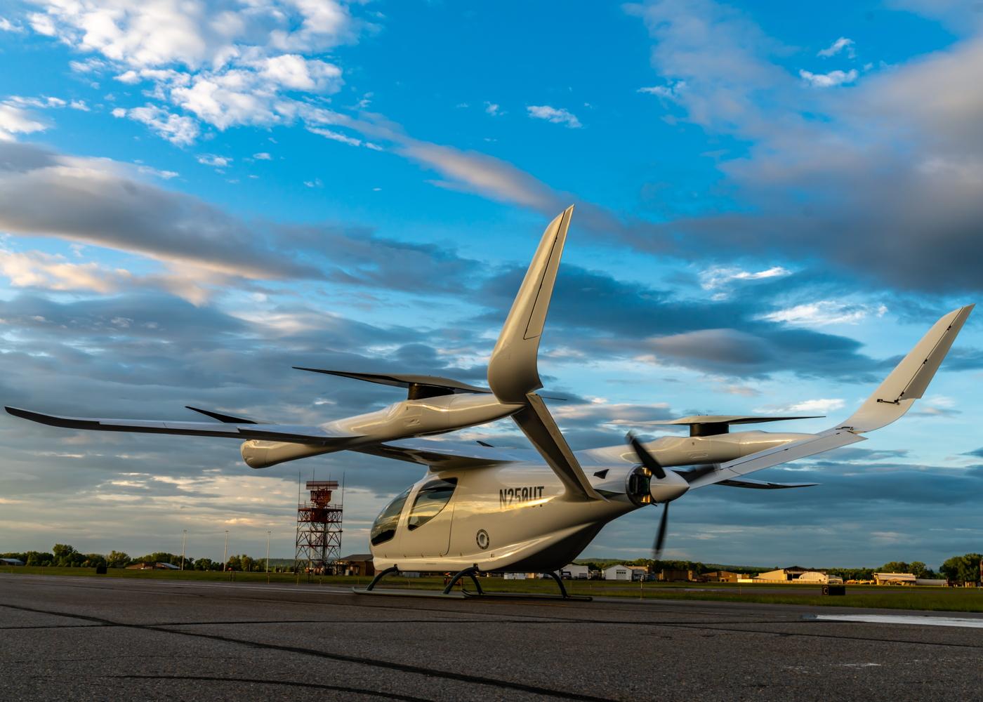 Aeronava electrica in care investeste Amazon