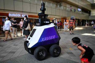 Tara care va lansa roboti pentru a patrula pentru sanatatea publica in pandemie
